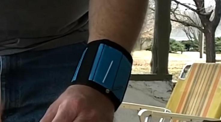 Удобный магнитный браслет