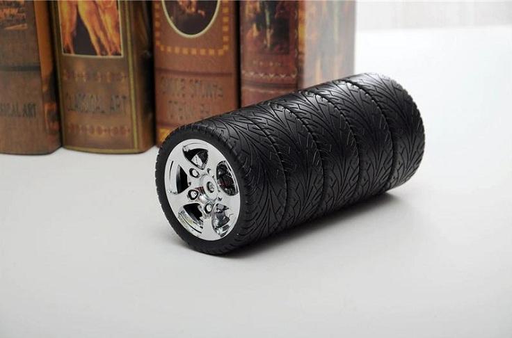 Термос в виде колес