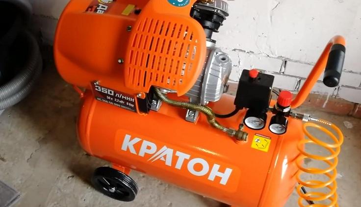 Компрессор с прямой передачей Кратон AC-350-50-DDV