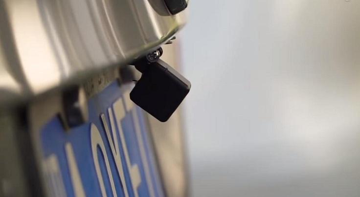 Видеорегистратор зеркало Xiaomi YI Mirror Dash Camera