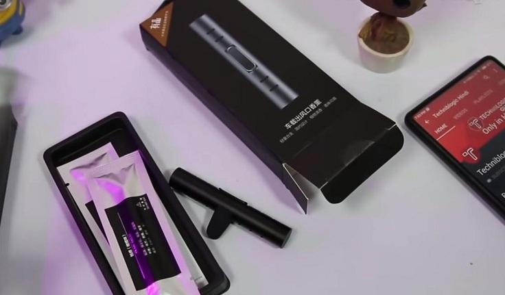 Автомобильный ароматизатор от Xiaomi