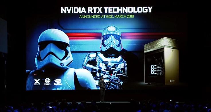 Gamescom Nvidia представила графические чипы GeForce RTX 20 серии