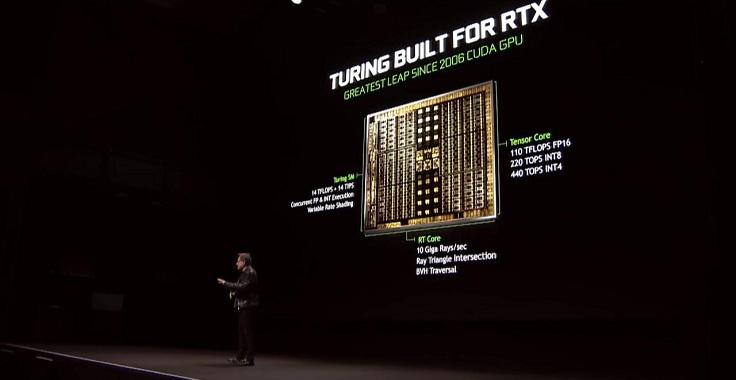 Кто-то искренне не понимал, почему Nvidia, тратит транзисторы на какие-то RT и тензорные ядра