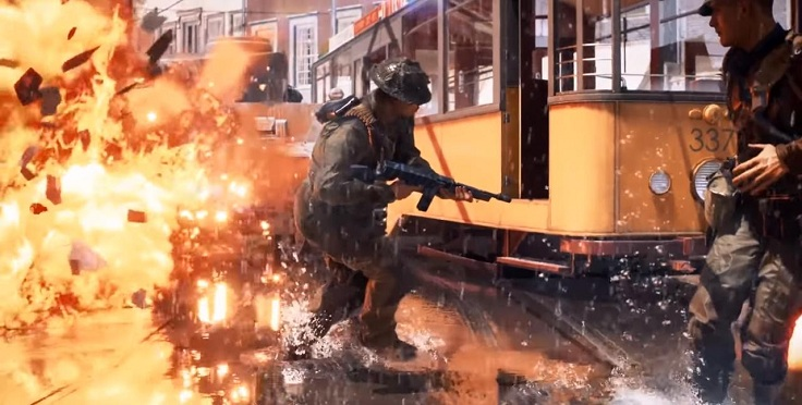Первой игрой под RTX стала спорная и глянцевая Battlefield V