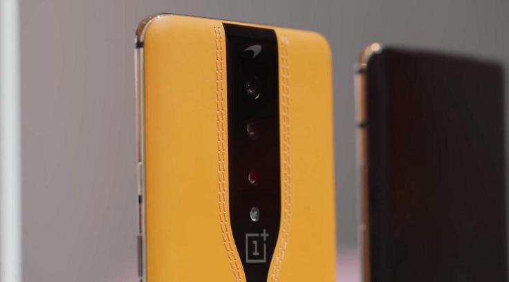 OnePlus сделала смартфон, который прячет камеры
