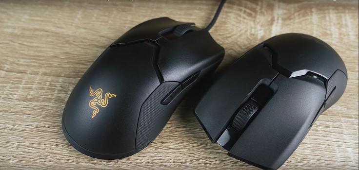 Viper и Viper Ultimate - самые лёгкие мышки по версии Razer
