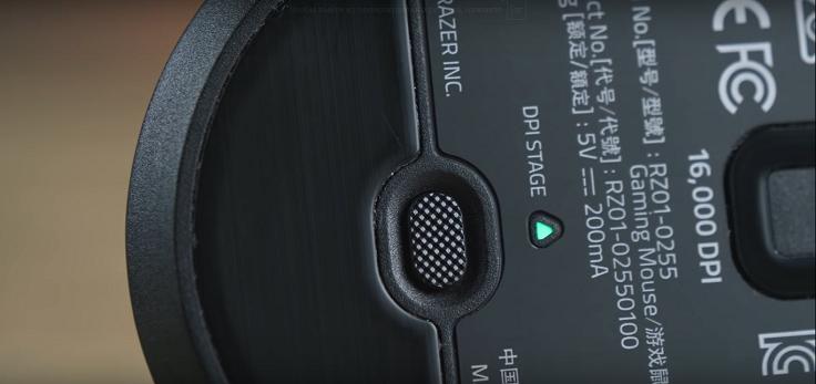 Кнопки переключения DPI в обеих моделях вынесены на днище.