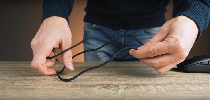 Провод у обычной Viper в тканевой оплётке, очень мягкий и послушный