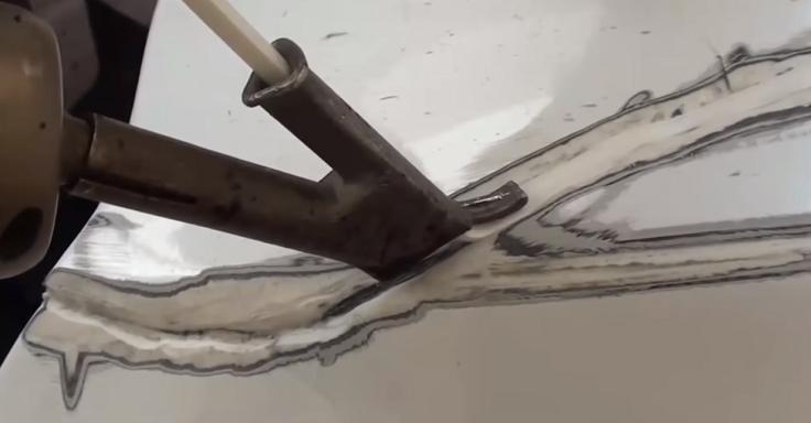 Насадки для запайки сломанных пластиковых бамперов
