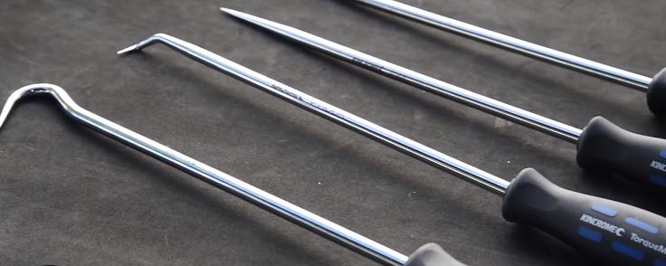Набор инструментов для удаления сальников, колец