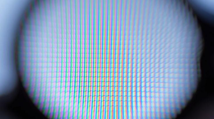 Тут вполне стандартная RGB-панель, без каких-либо ухищрений