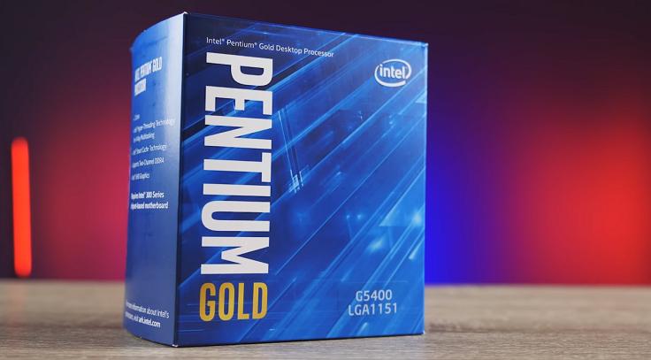 Ближайший конкурент 3000G из лагеря Intel – Pentium G5400