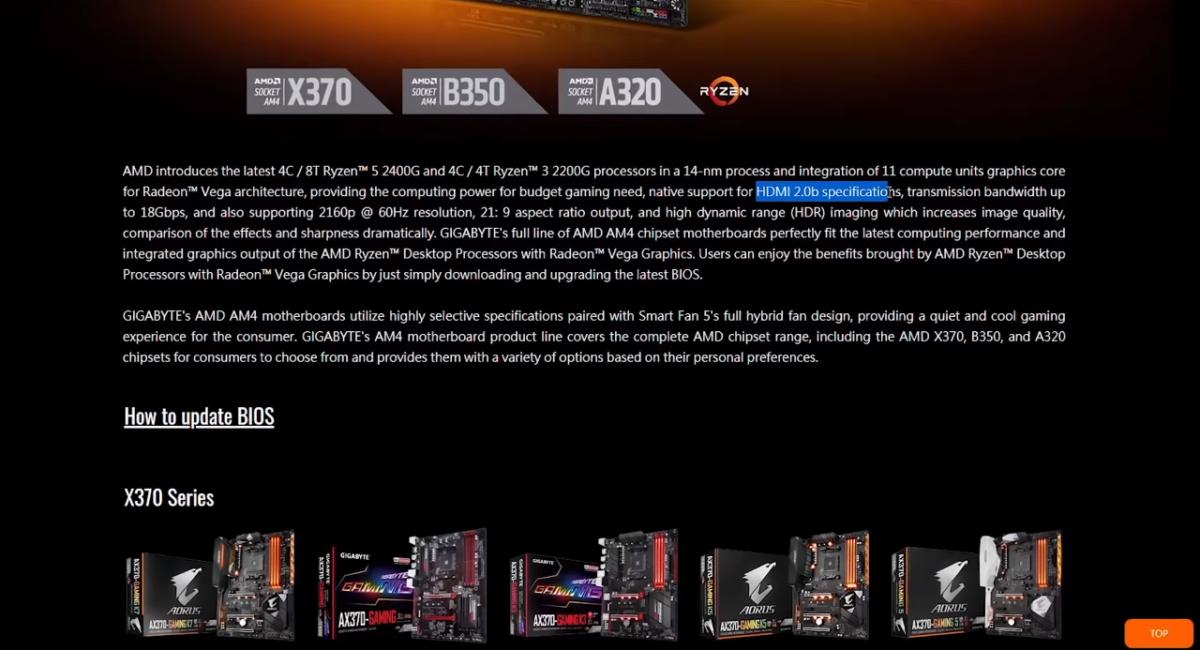 Совсем не лишним будет упомянуть полноценную поддержку у Athlon 3000G