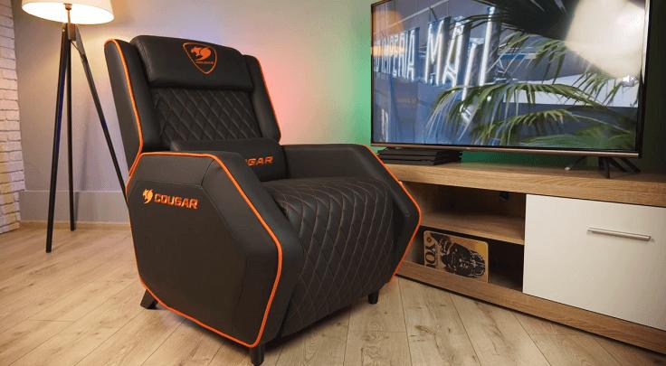 Итак, знакомьтесь, это игровое кресло-софа Cougar RANGER.