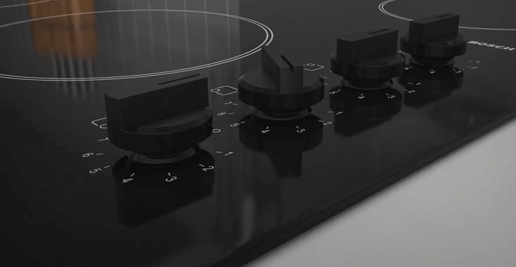 4 поворотных механических переключателя