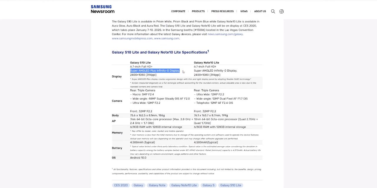 Это общедоступная информация, которая находится на официальном сайте Samsung Newsroom