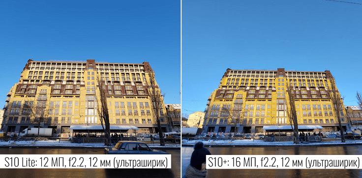 Сверхширики очень похожи, оба на 123 градуса, с f2.2, без автофокуса