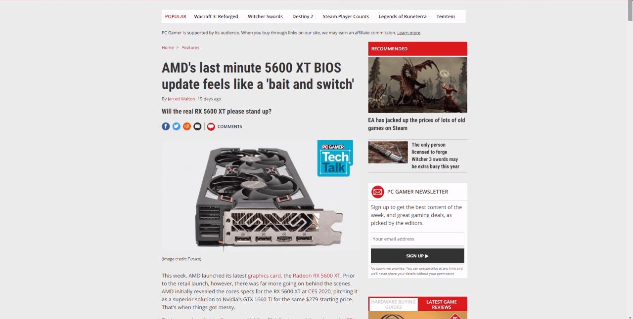 В ответ AMD пошла на беспрецедентный шаг