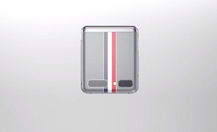 Том Браун не сильно старался и просто накреативил серый корпус с полосочками