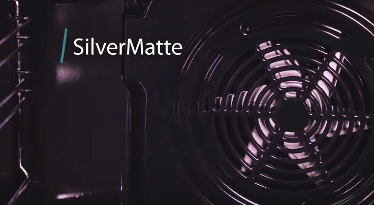 Тройное покрытие эмалью SilverMatte