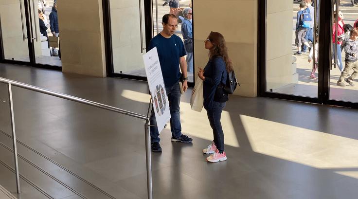 В Барселонском ПассЕйдж де грАсия осуществляют консультацию и техническую поддержку