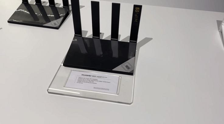Это первый в мире роутер с поддержкой WiFi 6+ для устройств Huawei.