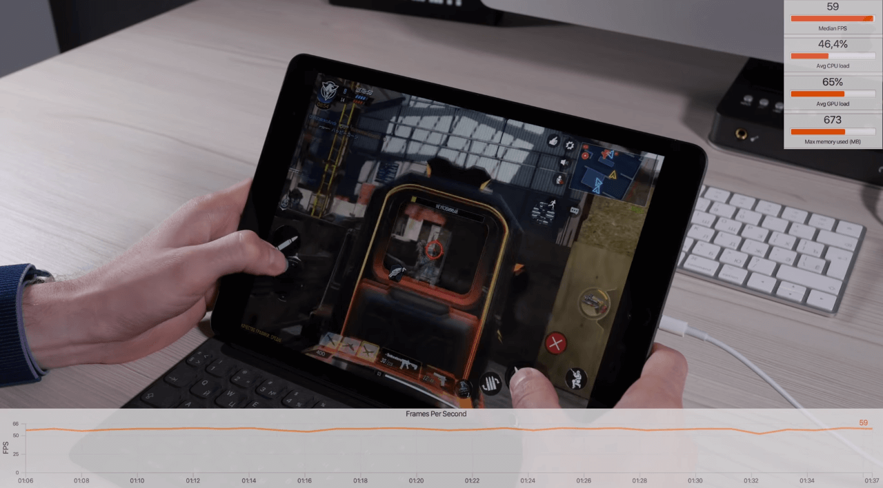 Call of duty Mobile идет отлично в сетевой игре