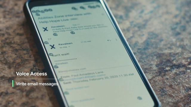 Android 11 официальный релиз - Голосовое управление
