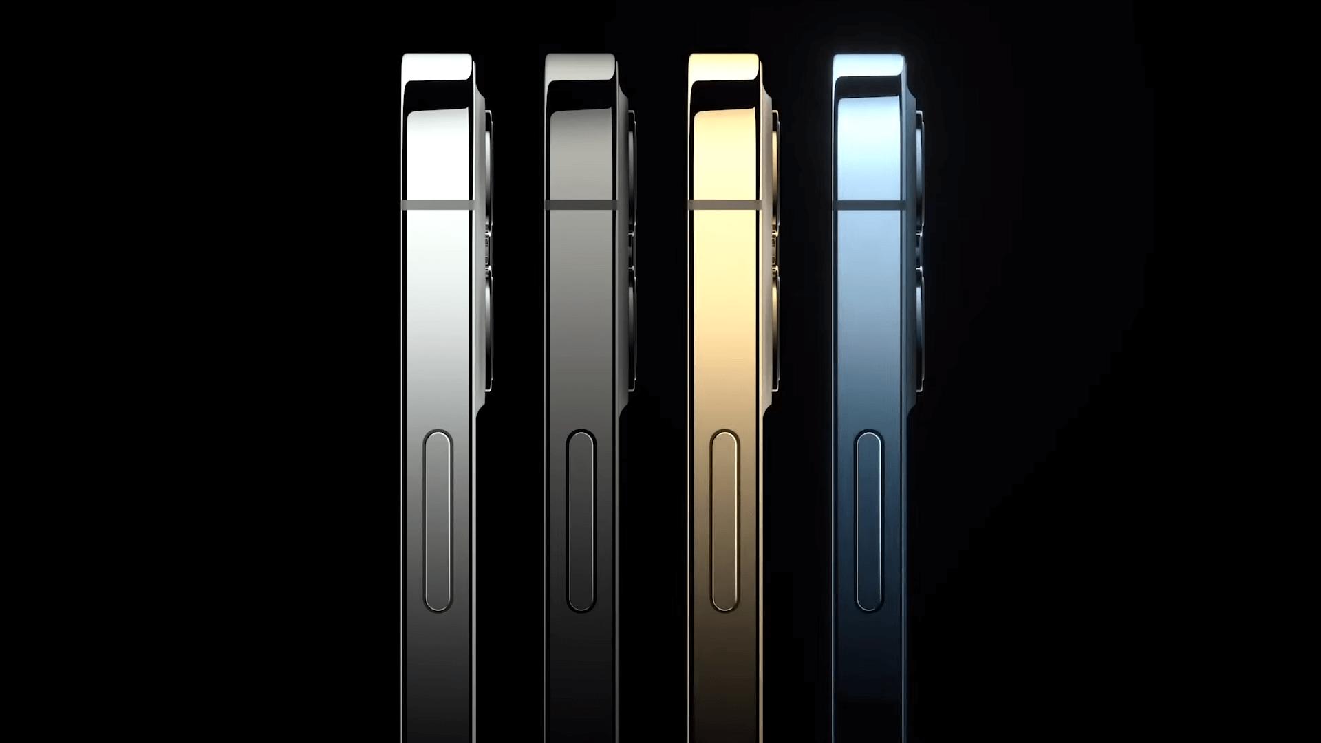 4 цвета. В довесок к банальным добавили новый золотой и синий.
