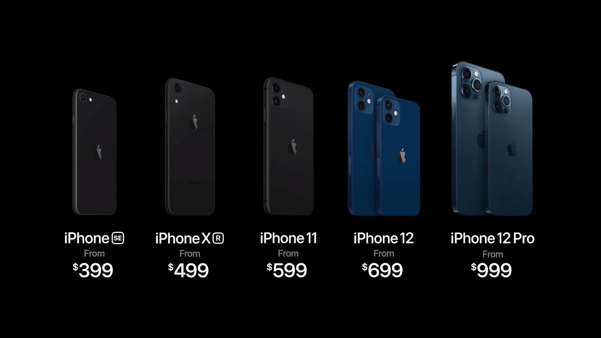 iPhone 12 Pro со 128 гб накопителем будет стартовать от 1000$.