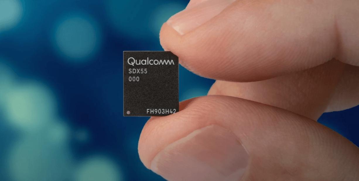 Mодем стоит от Qualcomm Snapdragon X55