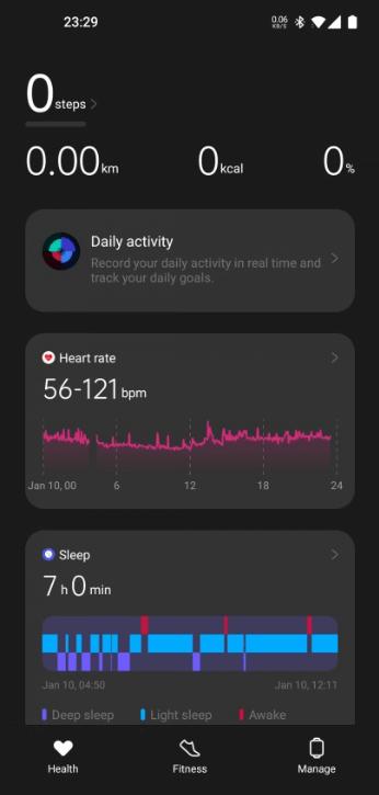 Первый - это мониторинг активности и фитнес-трекер