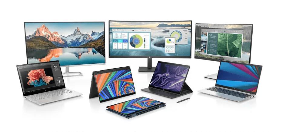 Также HP показала на выставке CES еще четыре ноутбука - HP EliteBook x360 1030 G8, HP EliteBook x360 1040 G8, HP Elite x2 G8 и HP ENVY 14, а также линейку мониторов, беспроводную мышь и дорожный рюкзак.