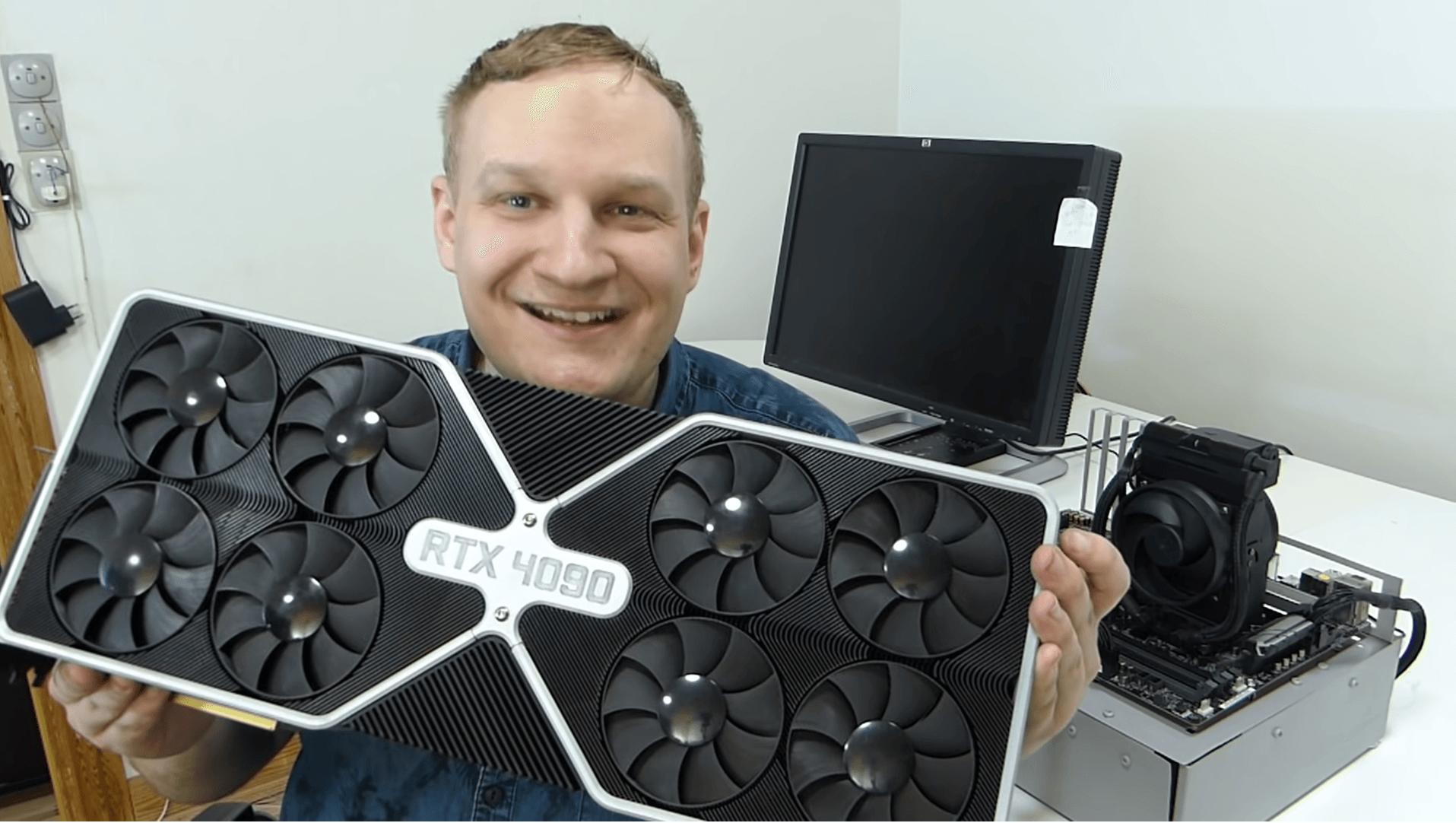 Nvidia выпустила RTX 4090